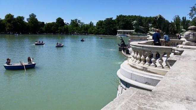 Boating in Retiro Park