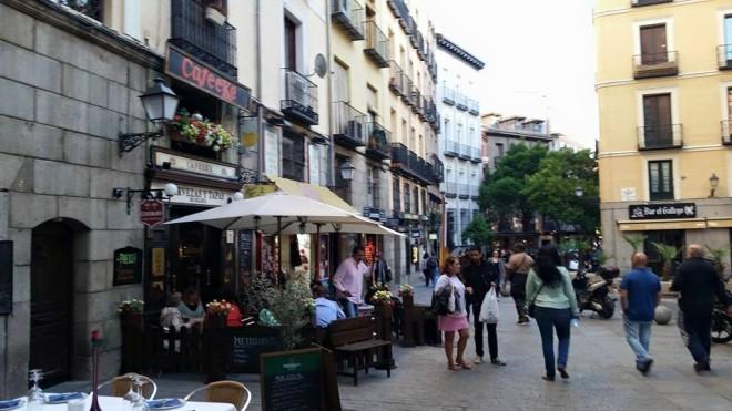 Evening in Madrid